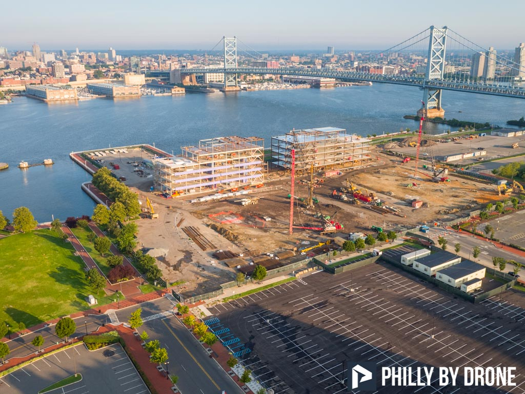 Camden Waterfront - Philly By Drone