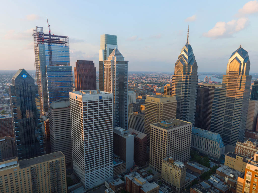 1911 Walnut - Philly By Drone